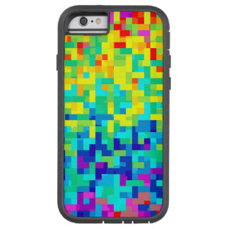 Seamless Pixel Pattern Background as an Artistic Tough Xtreme iPhone 6 Case