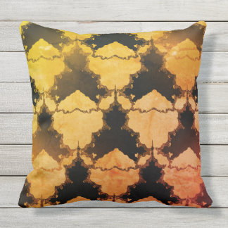Seamless-Sorbels_Modern-Art-Glow Outdoor Pillow
