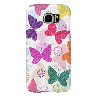 Seamless Spring Floral Case Samsung Galaxy S6
