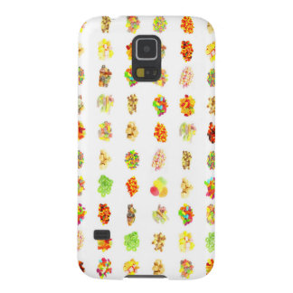 Seamless Sweets and Candy Pattern Background Cases For Galaxy S5