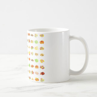 Seamless Sweets and Candy Pattern Background Coffee Mug