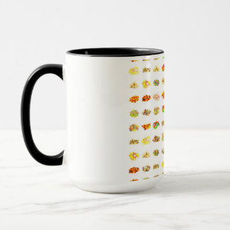 Seamless Sweets and Candy Pattern Background Mug