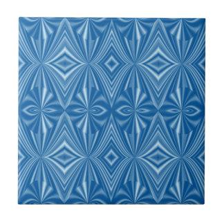 Seamless Unique Stylish Blue Pattern Tile