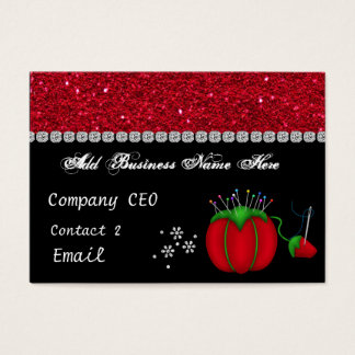 SEAMSTRESS Glam Business Card