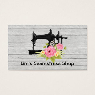Seamstress Shop Business Card
