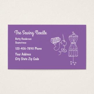 Seamstress Theme Business Card