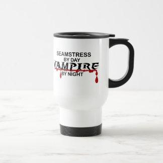 Seamstress Vampire by Night 15 Oz Stainless Steel Travel Mug