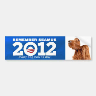 seamus romney obama bumper sticker
