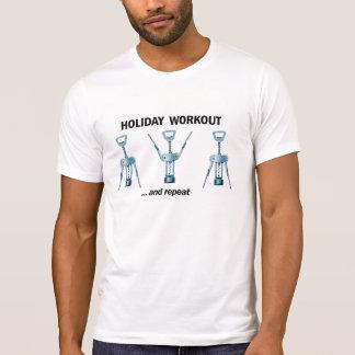 Séance d entraînement de vacances t-shirts