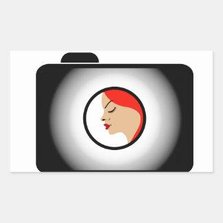 Séance photos modèle stickers rectangulaires