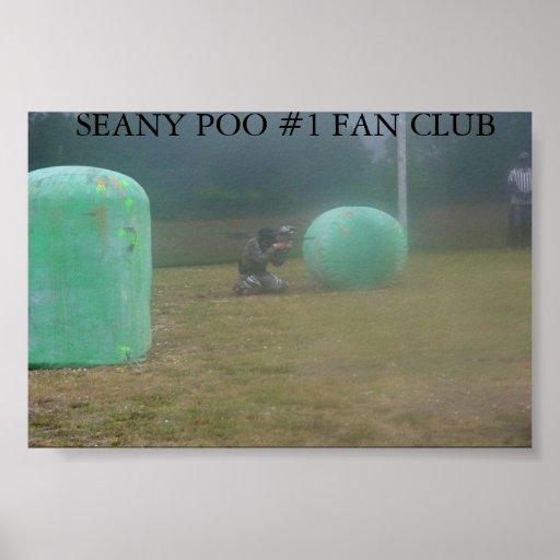 SEANY POO  PRINT