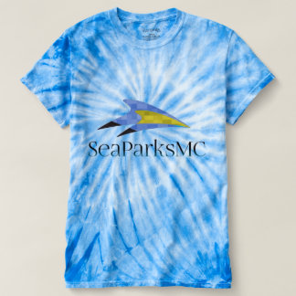 SeaParksMc Men's Cyclone Tie-Dye T-Shirt