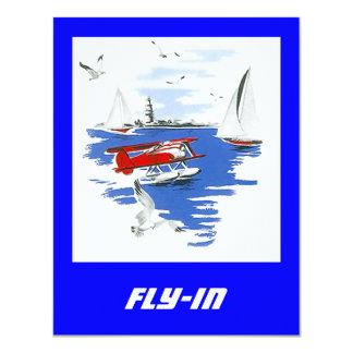 Seaplane Floatplane Fly-In Fly In Invitations