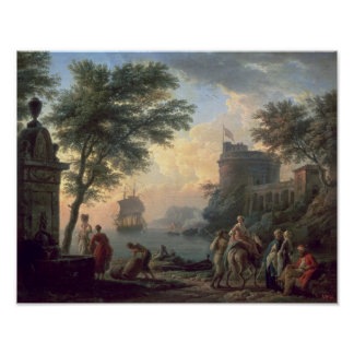 Seaport, 1763 poster
