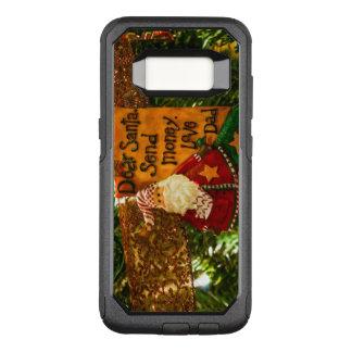 Sear Santa Send Money OtterBox Commuter Samsung Galaxy S8 Case