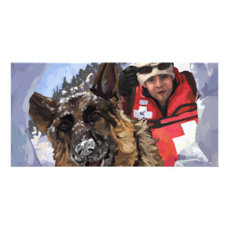Search and Rescue Personalized Photo Card