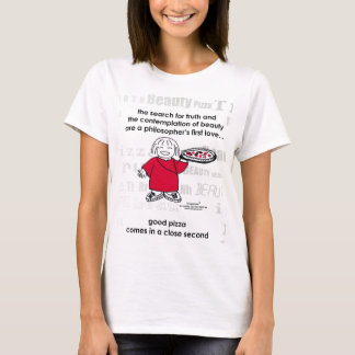SEARCH FOR TRUTH & PIZZA! T-Shirt