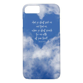 Search with all your heart Bible Verse Case-Mate iPhone Case