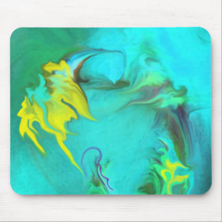 searching for peace,blue,Dreams, Mouse Pad