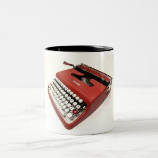 Sears Courier typewriter Two-Tone Coffee Mug