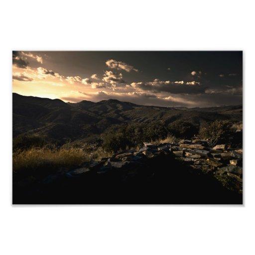Sears Kay Sunset Photo Art