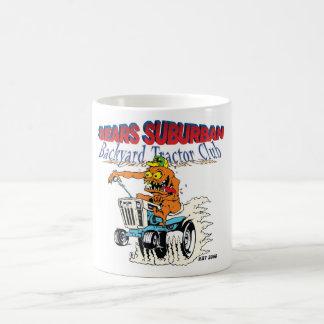 Sears Suburban Backyard Tractor Club in new logo Coffee Mug