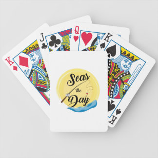 Seas The Day Bicycle Playing Cards