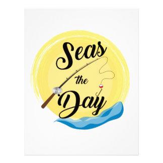 Seas The Day Letterhead