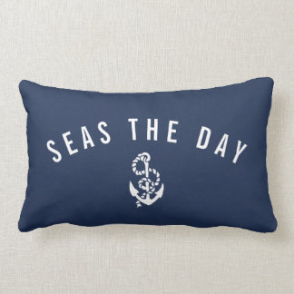 Seas the Day Lumbar Pillow