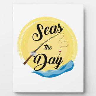 Seas The Day Plaque