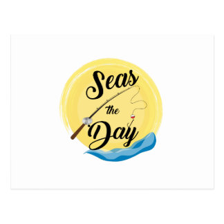 Seas The Day Postcard