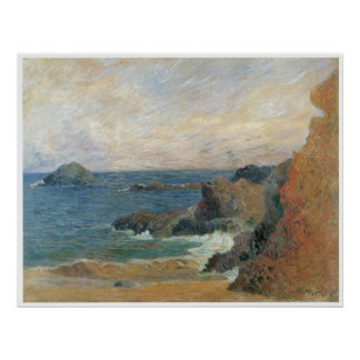 Seascape, 1886 poster