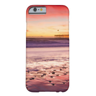 Seascape and pier at sunset, CA Barely There iPhone 6 Case