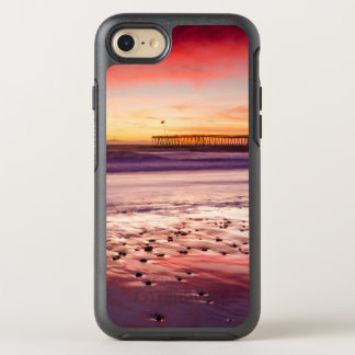 Seascape and pier at sunset, CA OtterBox Symmetry iPhone 7 Case