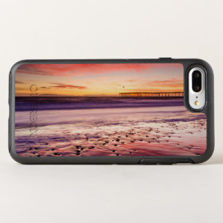 Seascape and pier at sunset, CA OtterBox Symmetry iPhone 8 Plus/7 Plus Case