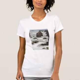 Seascape and sea stacks, Shetland T-Shirt