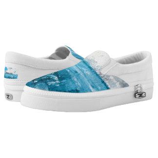 Seascape Artist Designed Unisex Sneakers