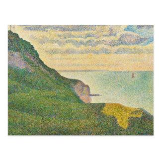 Seascape at Port-en-Bessin, Normand Postcard