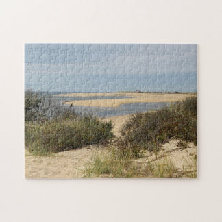 Seascape at Provincetown on Cape Cod Jigsaw Puzzle