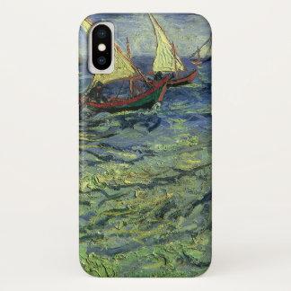 Seascape at Saintes Maries by Vincent van Gogh iPhone X Case