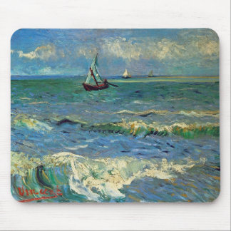 Seascape at Saintes-Maries-de-la-Mer Mouse Pad
