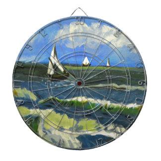 Seascape at Saintes-Maries, Van Gogh Dartboard