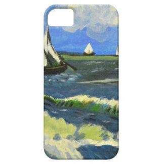 Seascape at Saintes-Maries, Van Gogh iPhone 5 Covers