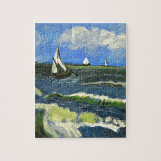 Seascape at Saintes-Maries, Van Gogh Jigsaw Puzzle