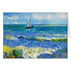 Seascape at Saintes-Maries Vincent Van Gogh Card