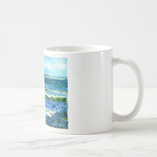 Seascape at Saintes-Maries, Vincent Van Gogh Coffee Mug
