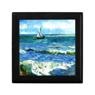 Seascape at Saintes-Maries, Vincent Van Gogh Gift Box