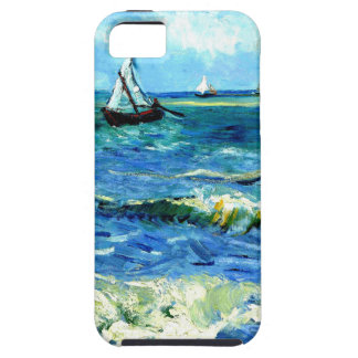 Seascape at Saintes-Maries, Vincent Van Gogh iPhone 5 Cases