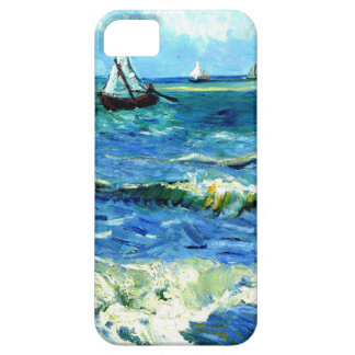 Seascape at Saintes-Maries, Vincent Van Gogh iPhone 5 Cover