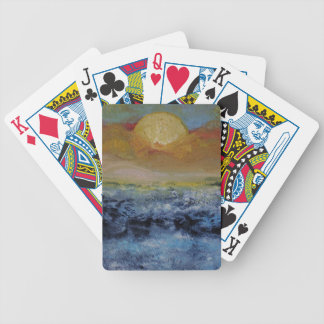 Seascape Bicycle Playing Cards